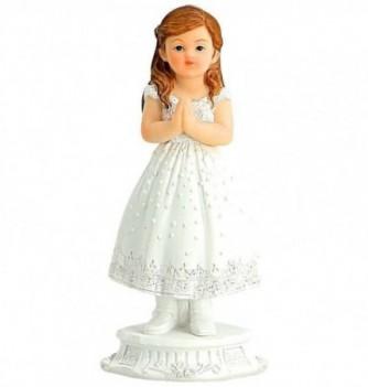 Figurine for cake Communiant Girl 12cm