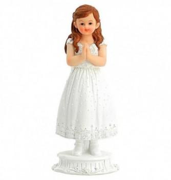 Figurine for cake Communiant Girl 18cm