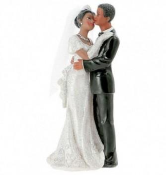 Figurine Gâteau de Mariage Couple Valse