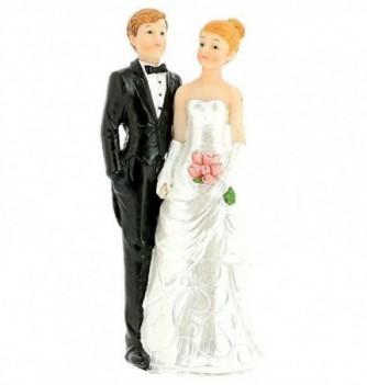 Figurine Gâteau Mariage Couple Classique