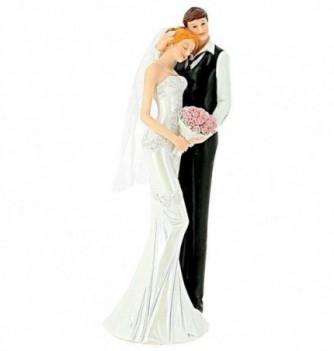 Figurine Gâteau Mariage Femme sur Epaule