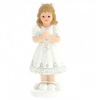 Figurine for cake Communiante Girl 8cm