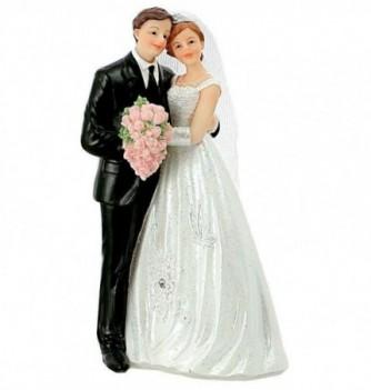 Figurine Wedding Cake Couple 15.6cm