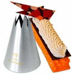 Coupe gâteaux 12-18 parts polypropylène