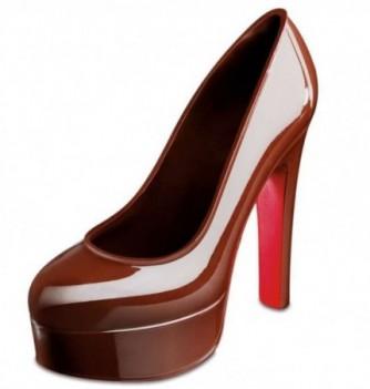 Moule Chocolat Chaussure Talon Compensé