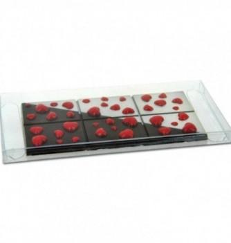 Emballage tablette chocolat 171X82X11