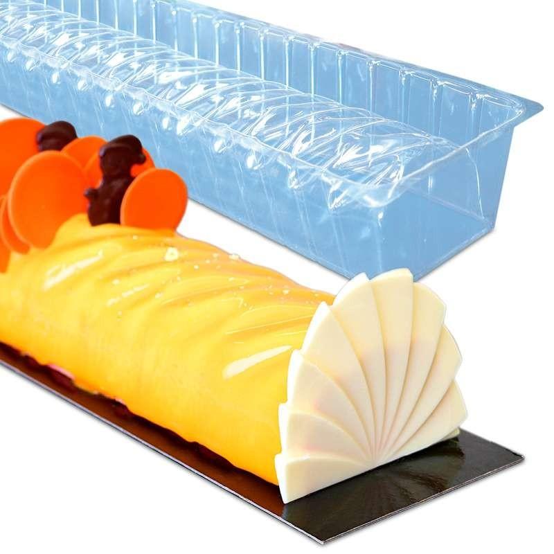 Moule silicone arabesque longue 290x90mm
