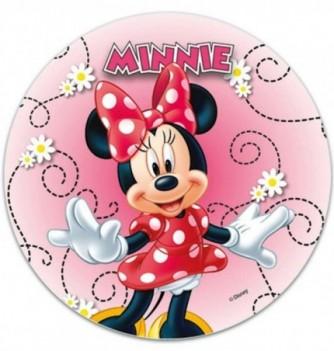 Edible Cake Topper - Minnie - Arabesque
