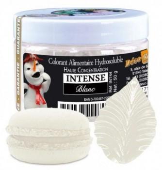 Colorant Alimentaire en Poudre Blanc Hydrosoluble Intense