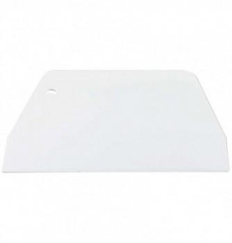 Grattoir blanc 190x120 mm