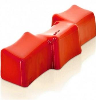 Yule Log Cake Mold in Plastic - Cube