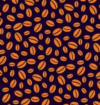 Feuille Transfert Chocolat Grains de Café