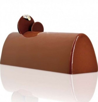 Yule Log Cake Mold in Plastic - Ark
