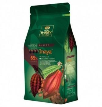 Chocolat de Couverture Barry Noir Inaya 65% Cacao 5kg
