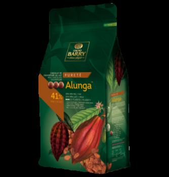 Milk Couverture Chocolate ALUNGA 41% 5kg