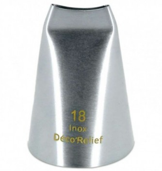 Douille Pâtisserie à Glacer 18 mm Hygiène