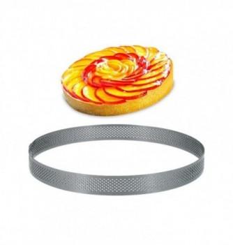 Cercle Inox Pâtisserie 30cm Micro-Perforé ht. 2cm