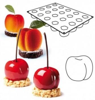 Moule Silicone Pavoflex Tutti Frutti Cerise/Pêche