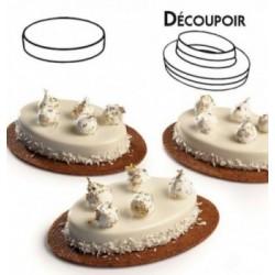 Moule antiadhesif mini-Cake a fond amovible 135mm