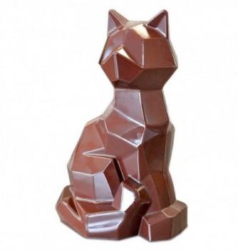 Moule Chocolat Professionnel Chat Origami 1 sujet