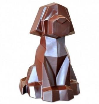 Moule Chocolat Professionnel Chien Origami 1 sujet