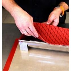 Décoration Gâteau en Sucre Sapin Mix Rouge