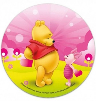 Edible Cake Topper - Winnie & Piglet