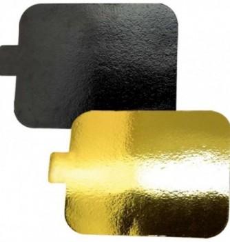LOT 40 LANGUETTES Or/Noir 9.5x5.5cm
