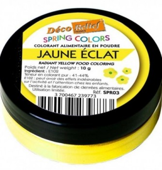 Food Coloring - Sparkling Yellow - 10 gr