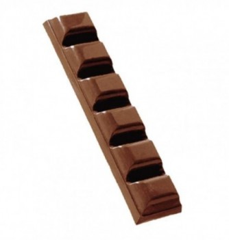 Chocolate mold bar 7pcs 21g