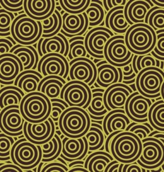 Feuille Impression Chocolat Cercles Pistaches