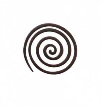 DECORS MOULES SILICONES Petite Spirale 8pcs