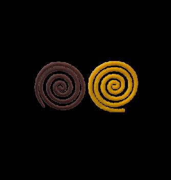 DECORS MOULES SILICONES Grande Spirale 5pcs