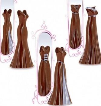 Moule Chocolat Robes Cintrées 3 modèles
