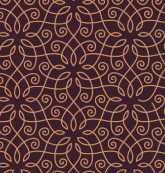 Feuille Impression Chocolat Art Déco
