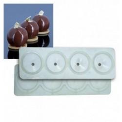 Moule chocolat injecte Bottine femme 83x81mm