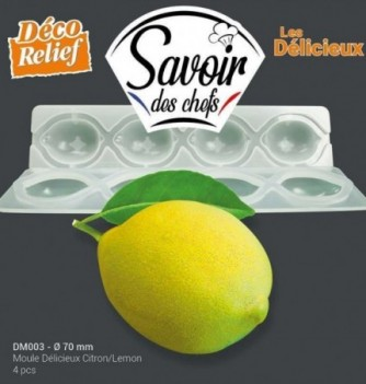 Moule Silicone Delicieux 4 Citrons 70mm