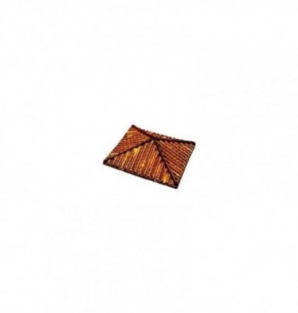 Chocolate mold roof 150x150x70