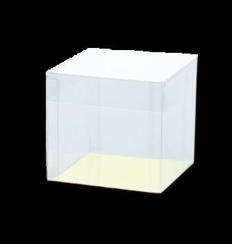 1 Boîte Cube PVC 78x78x76mm carton or