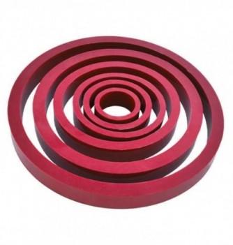 6 cercles silicone souples et déformables