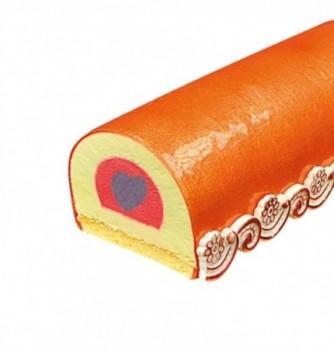 Moule Silicone pour Insert Gâteau - Coeur - 320x50x33mm