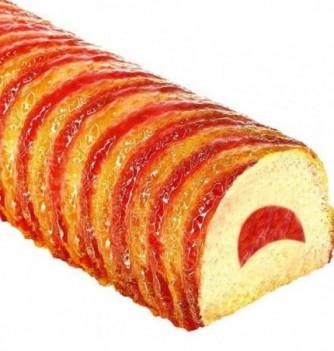 Moule Silicone pour Insert Gâteau - Demi Lune - 320x59x26mm