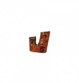 Chocolate mold 130x110mm straight trunk