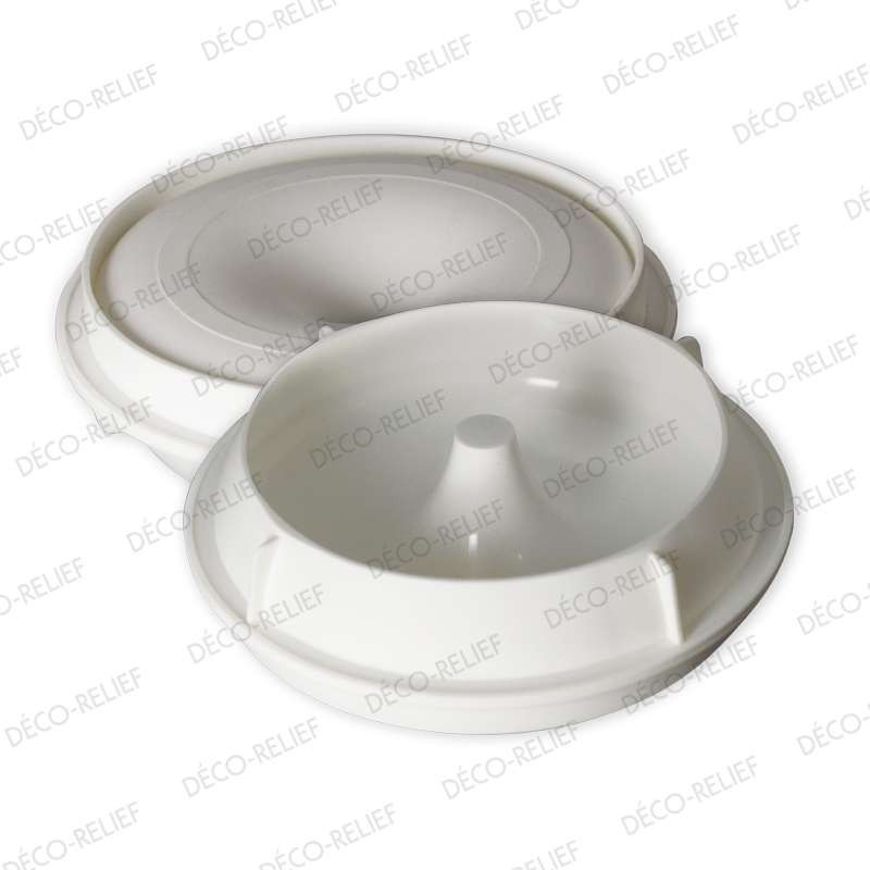 Moule silicone dentelle relief ornements 110x85x10mm