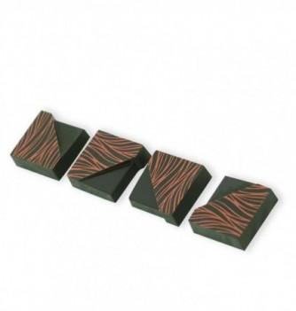 Moule Bonbon Chocolat Aimanté Carré Biseauté