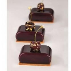 Petite règle chocolat double 170x80 mm