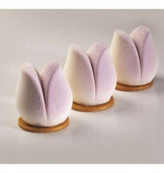 Moule à Gâteaux Silicone Pavoni Tulip