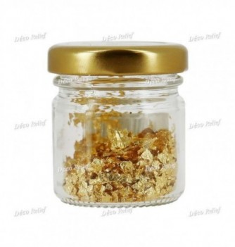 Flocons d'Or Alimentaire 100mg
