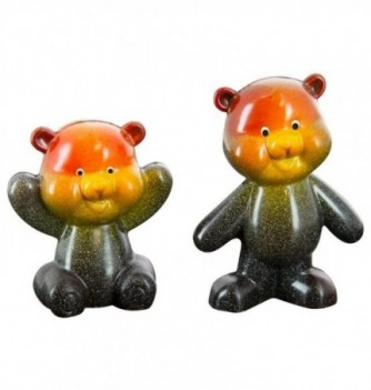 MOULE INJ 2 Oursons Peluches