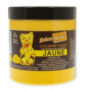 Fat Soluble Food Color - Yellow - 100 gr